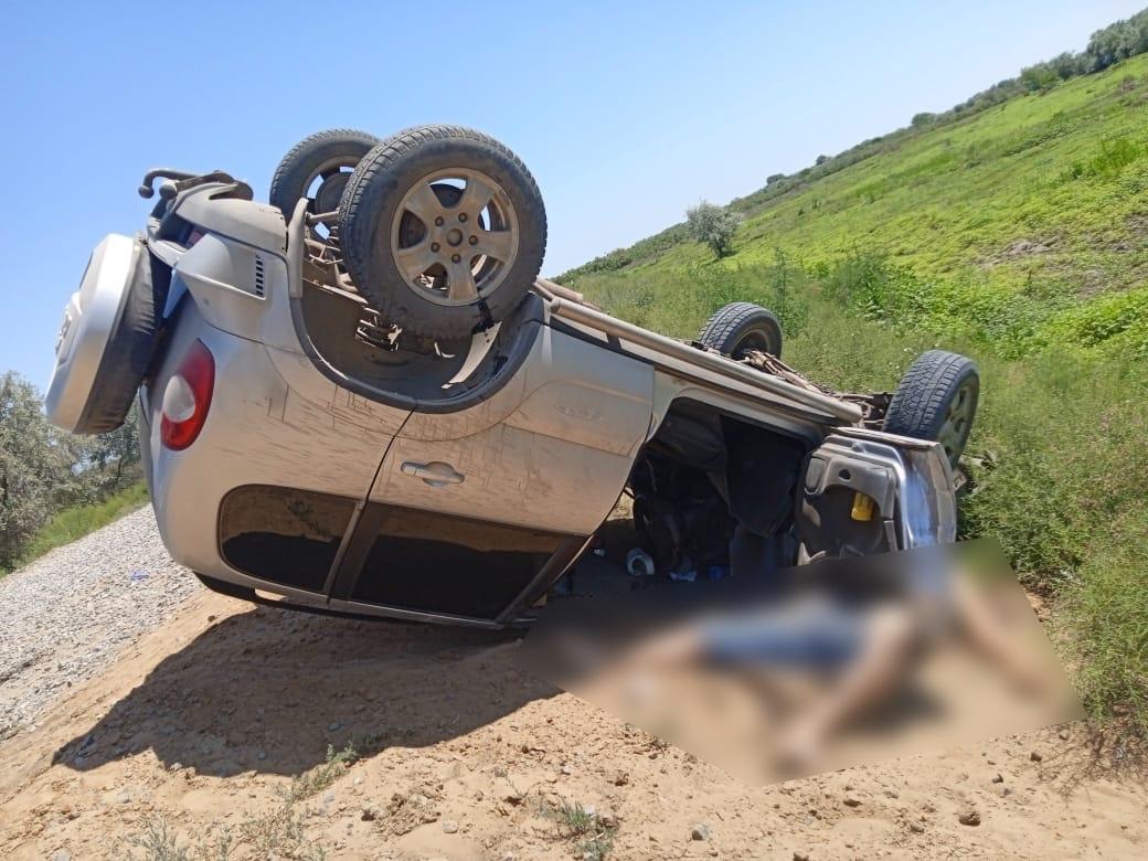 Астраханец разбился насмерть на угнанной машине