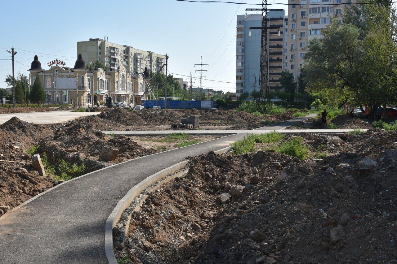 Осенью на Минусинской улице появится новый сквер