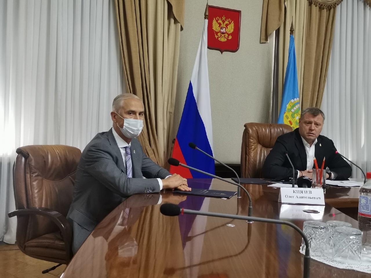 Олег Князев назвал главные задачи своей работы