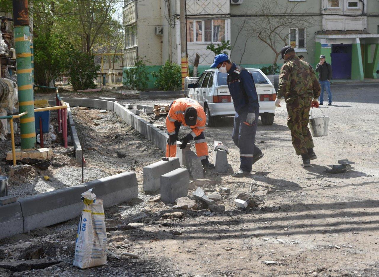 В Астрахани отремонтируют 16 дворов