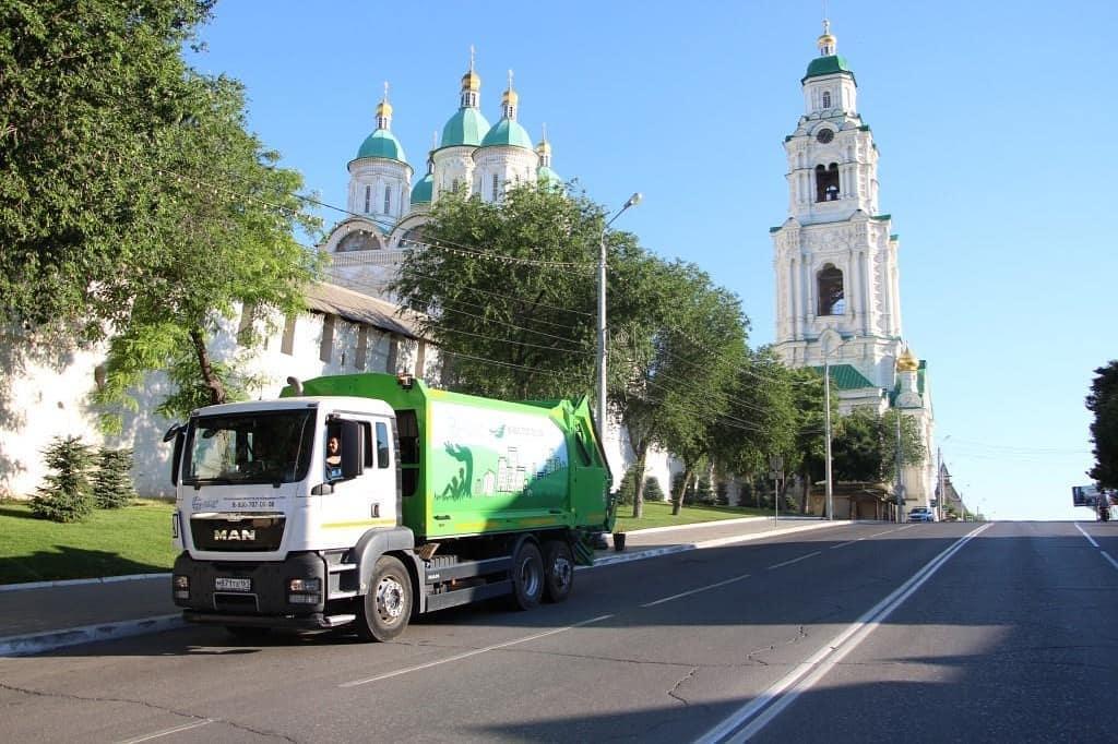 Астраханская область вошла в число лидеров по реализации мусорной реформы