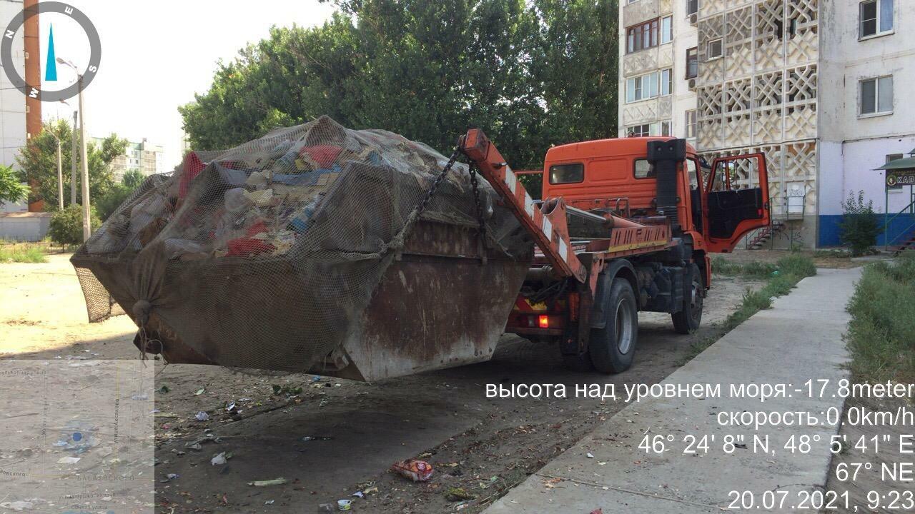 Регоператор «ЭкоЦентр» ликвидировал стихийную свалку в микрорайоне Бабаевского