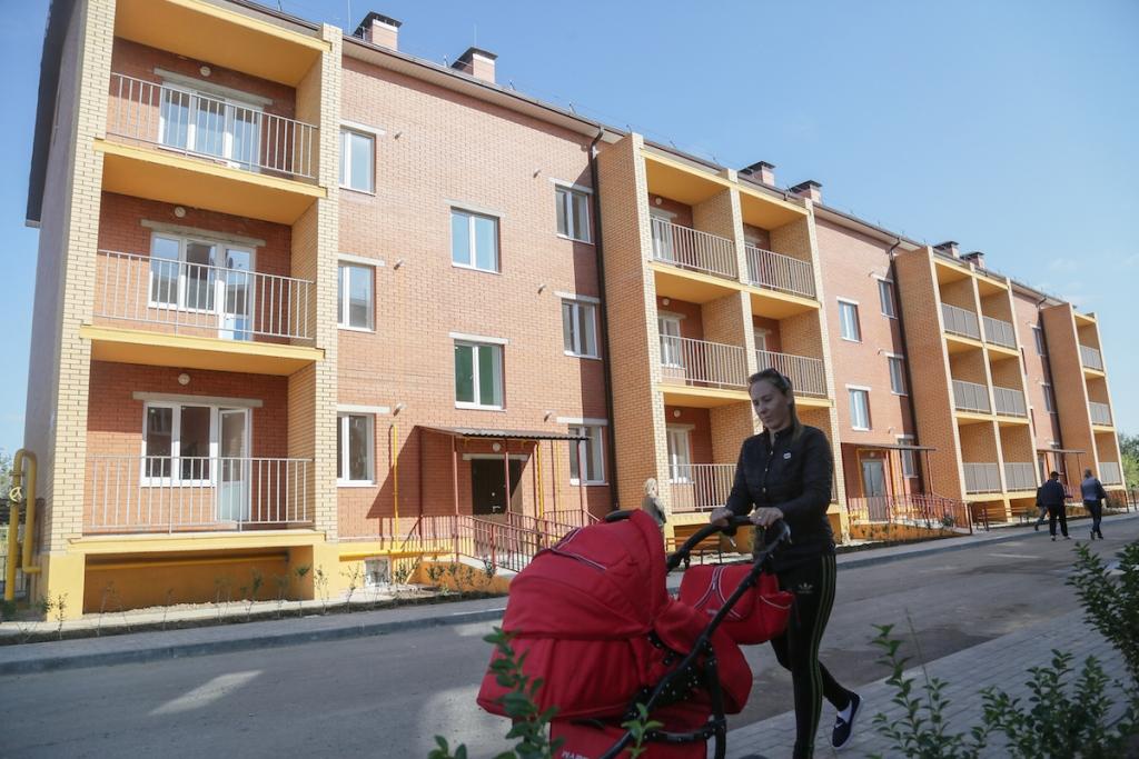 С начала года в Астраханской области ввели более 2000 домов