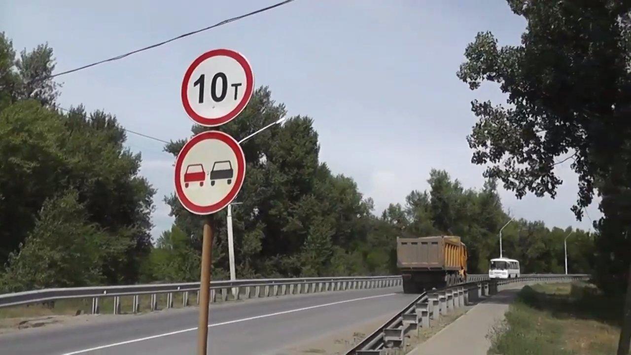 Ахтубинцы возмущены движением грузовиков по «президентскому» мосту