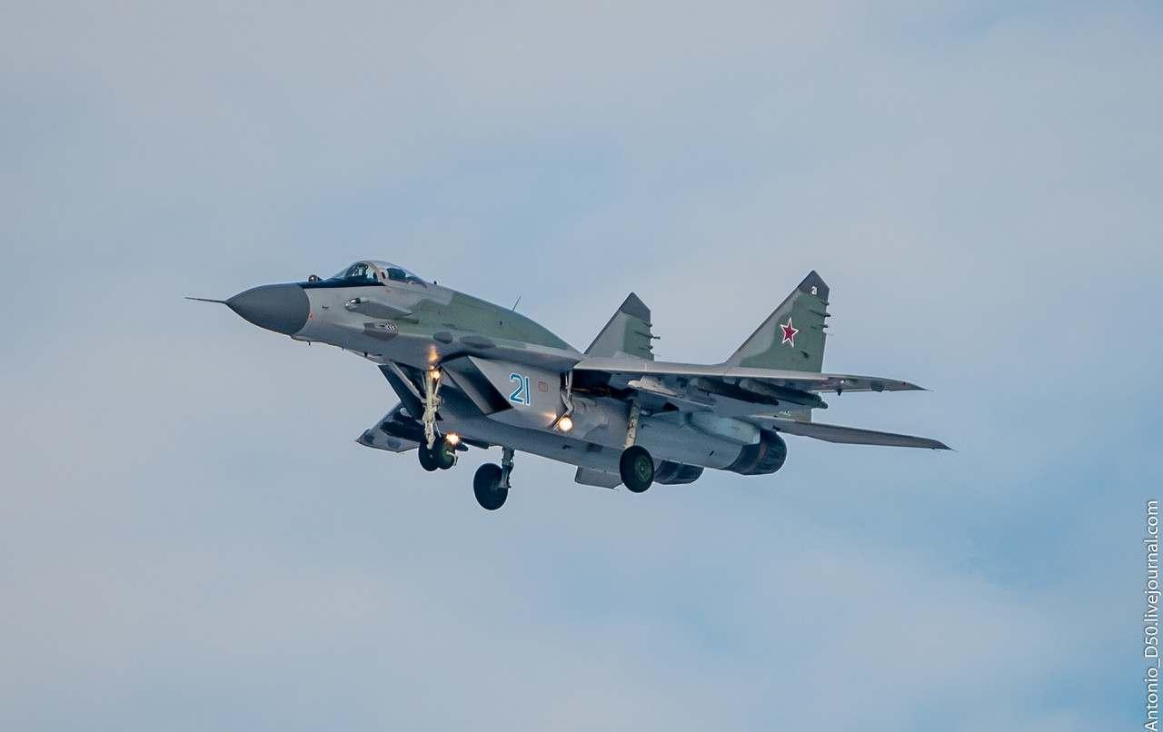 В падении МиГ-29 на полигоне Ашулук мог быть виновен человеческий фактор