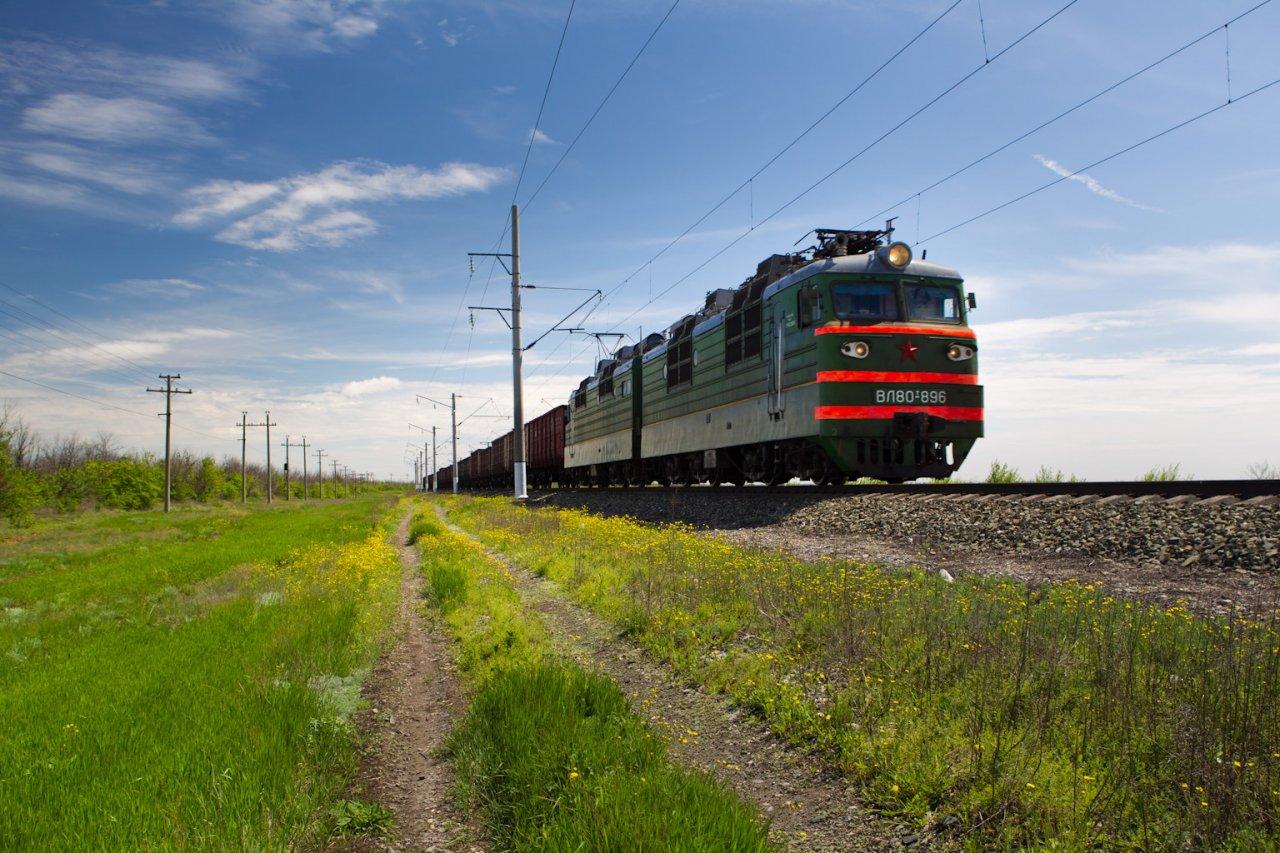 Погрузка на железной дороге в Астраханской области составила более 4,5 млн тонн за 7 месяцев