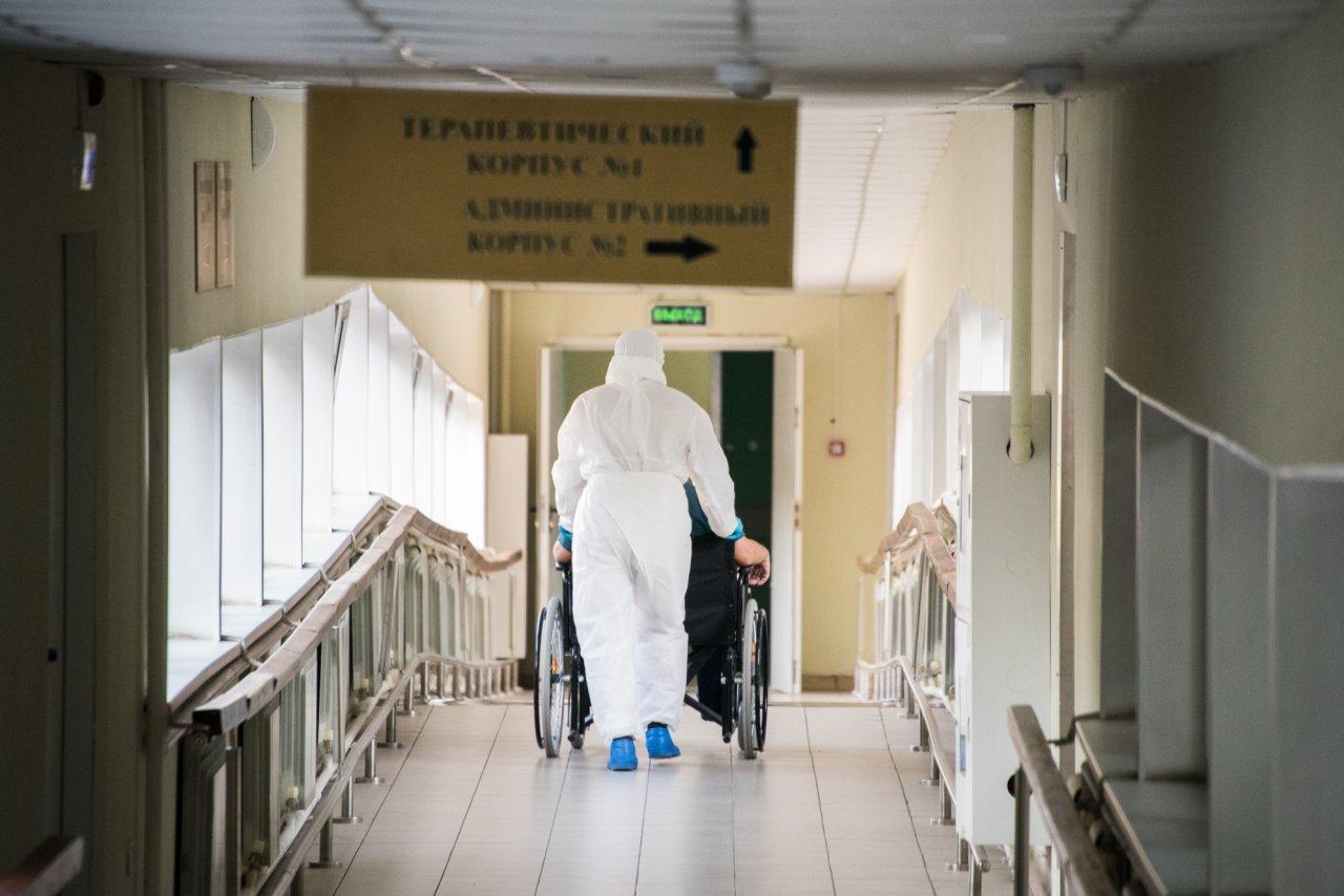 Число свободных ковид-коек в Астраханской области снижается ежедневно