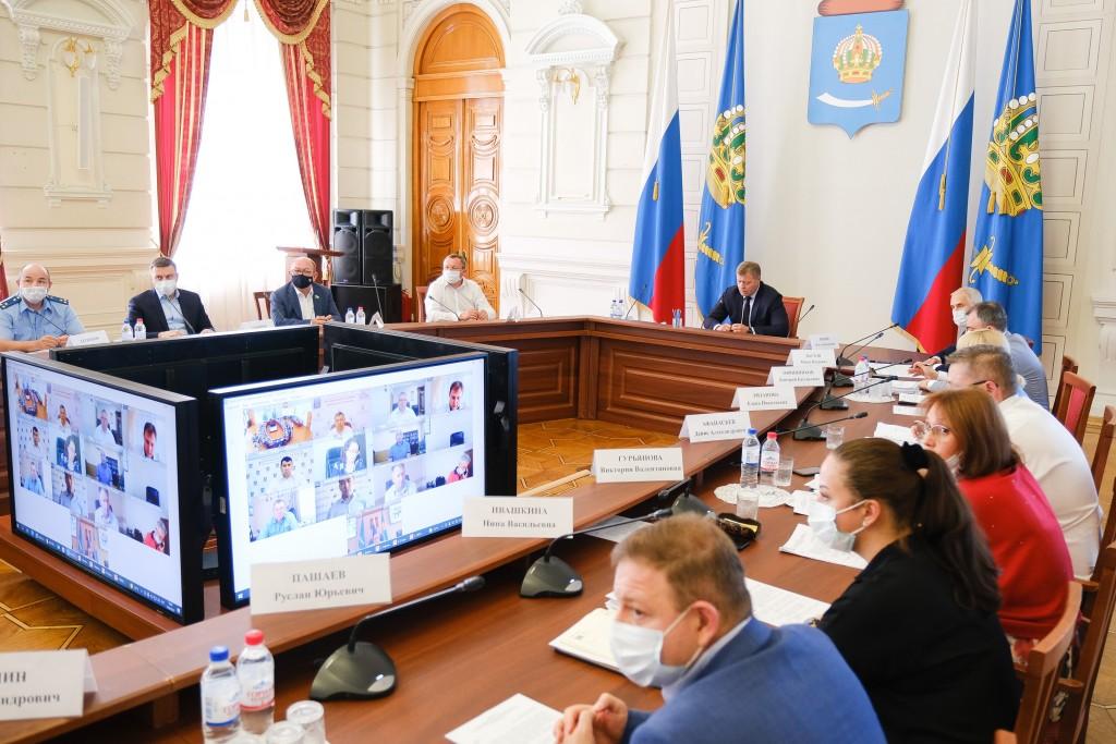 Астраханская область подготовила 25 проектов под инфраструктурные кредиты