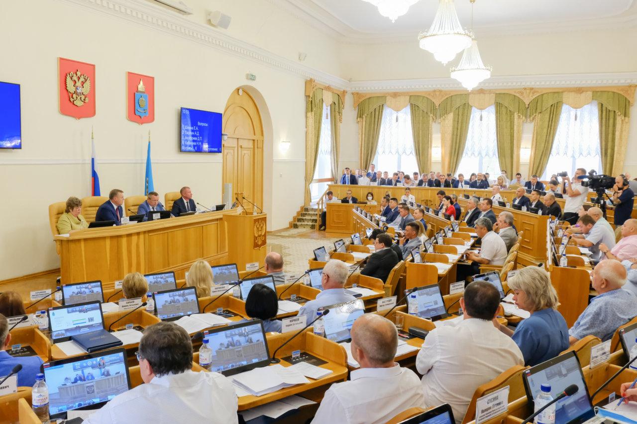 Депутаты Думы Астраханской области подвели итоги работы шестого созыва