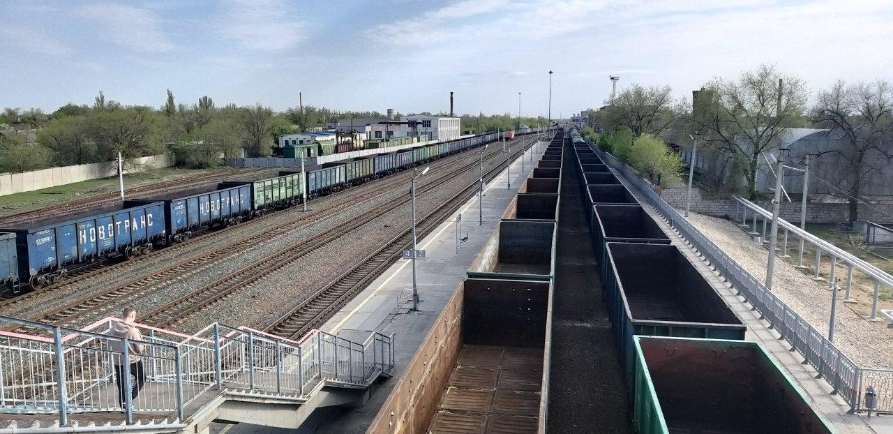 Погрузка на железной дороге в Астраханской области составила более 5,2 млн тонн в январе-августе