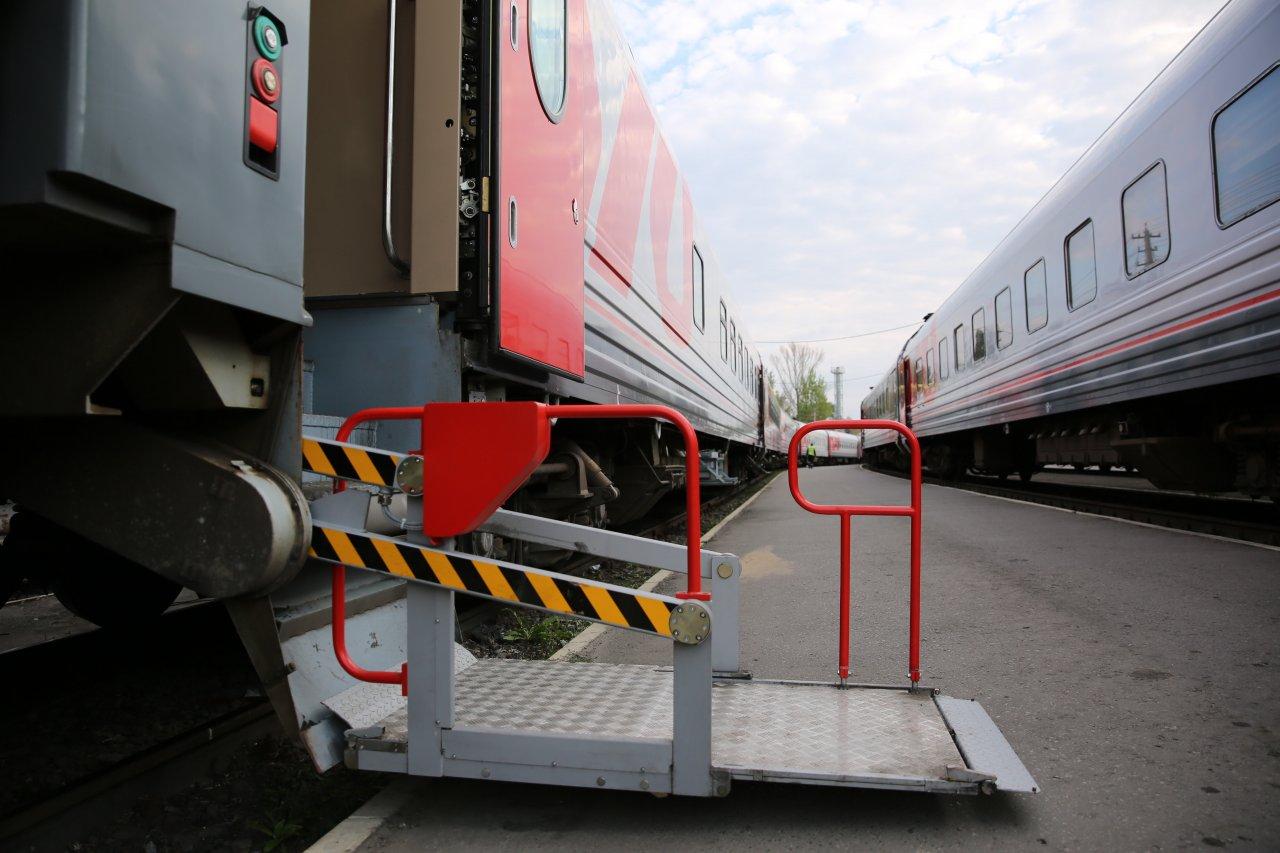 Более 5 тыс. маломобильных граждан воспользовались услугами сопровождения на вокзалах ПривЖД в январе-августе