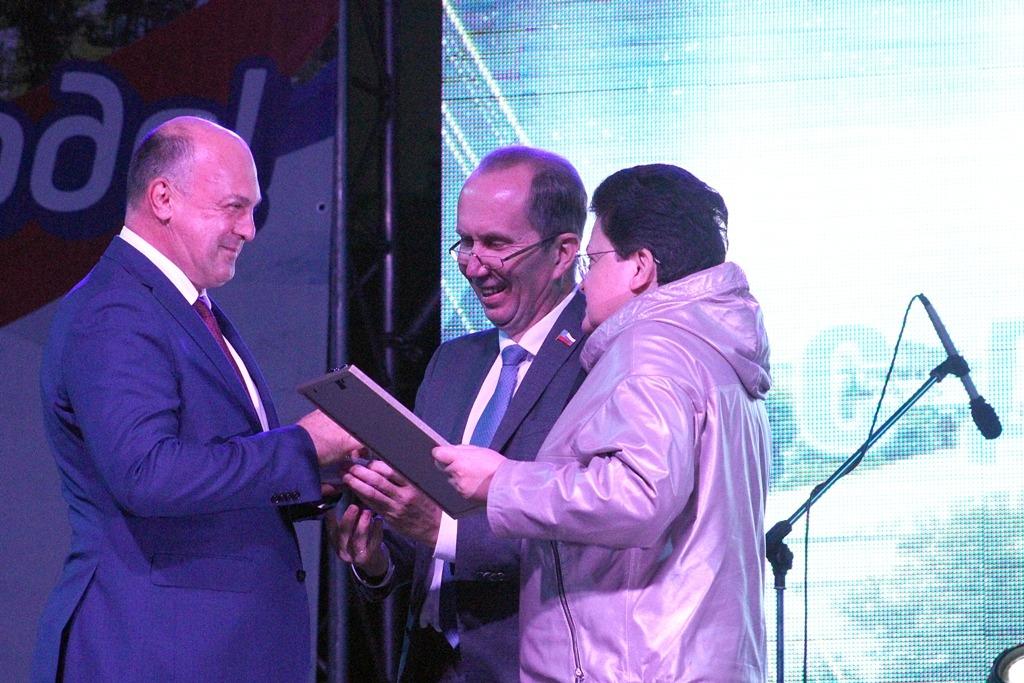 Памятный знак «Золотой лавр» вручили заместителю начальника Приволжской железной дороги Сергею Свечкареву