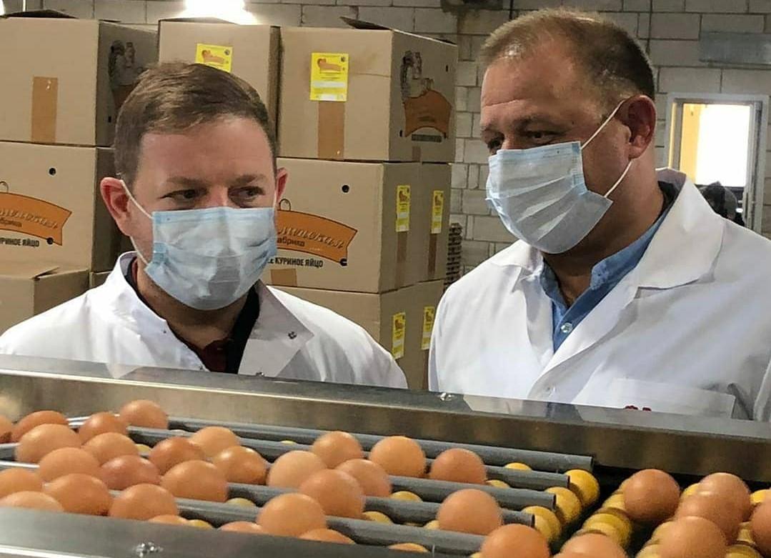Птицефабрика «Харабалинская» увеличит годовое производство яйца