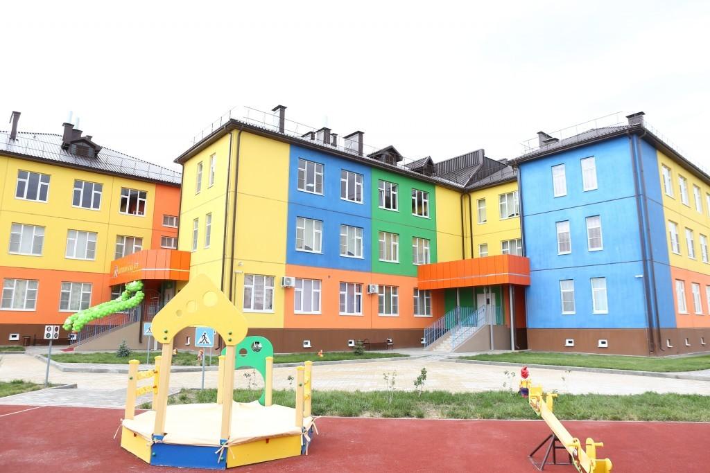 В Астрахани торжественно открыли новый детский сад
