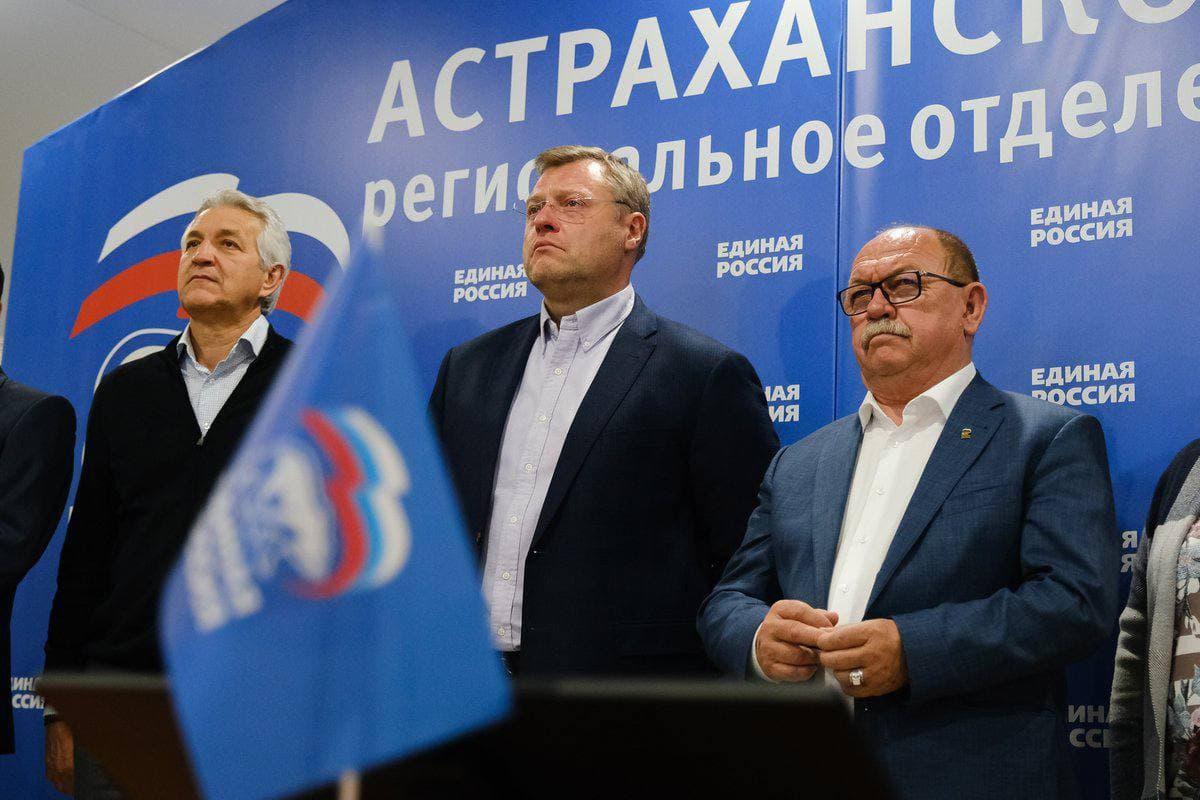 Игорь Бабушкин поблагодарил астраханцев за отданные голоса