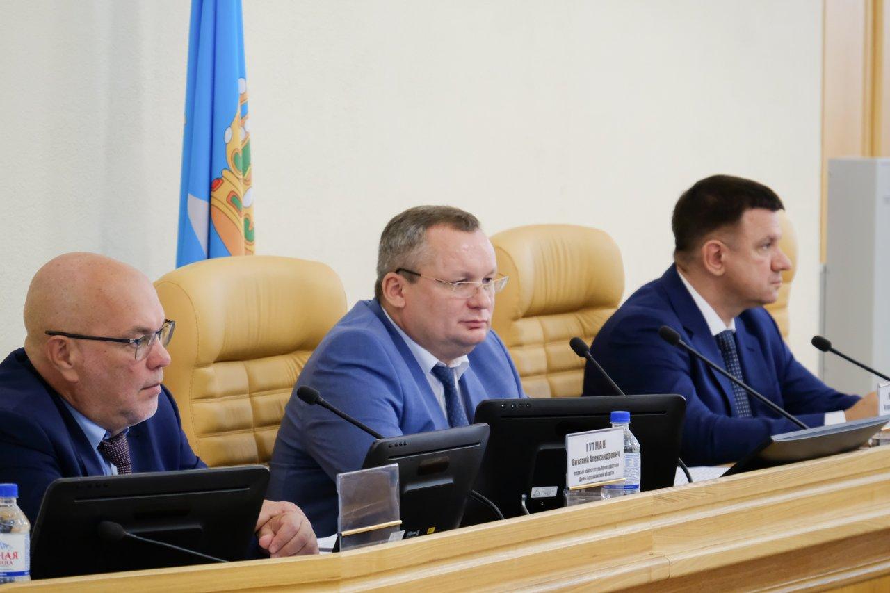 Седьмой созыв Думы Астраханской области приступил к работе и выбрал спикера