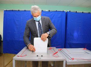 В Астраханской области идет третий день голосования