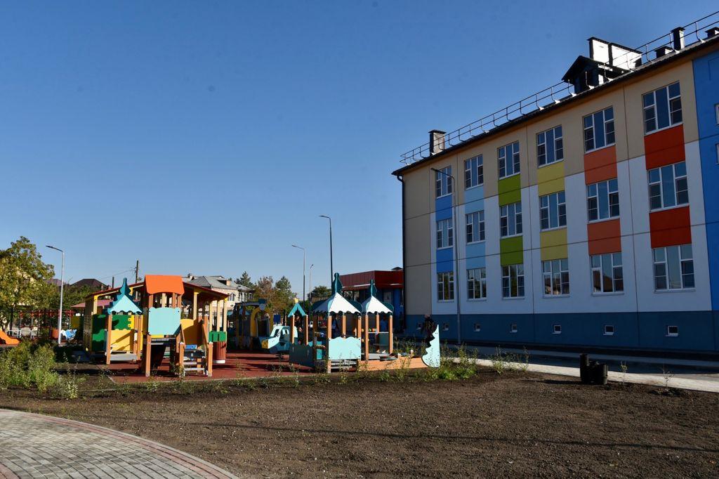 Строительство детского сада на улице Даргомыжского почти завершено