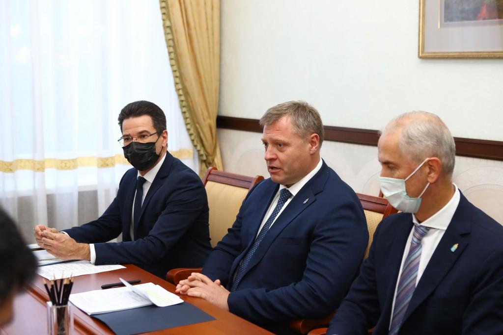 Астраханская область и Иран намерены расширять сотрудничество