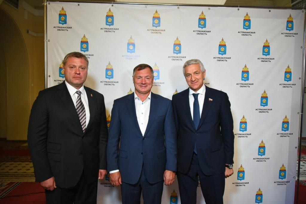 Марат Хуснуллин увидел перспективы развития Астраханской области