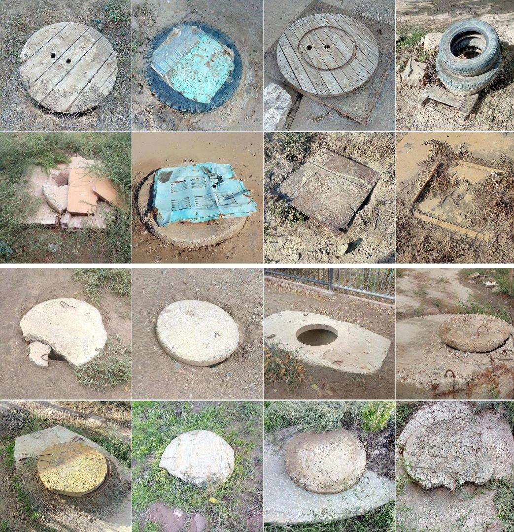 В Лимане массово воруют канализационные люки