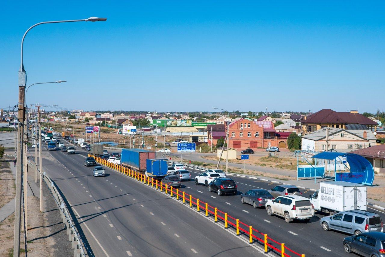 Дорожники снизили аварийность трассы «Каспий» у села Солянка