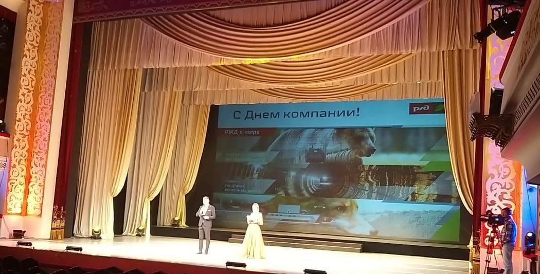 Праздничный концерт в честь Дня компании ОАО «РЖД» 4 октября покажут по телеканалу «Астрахань 24»