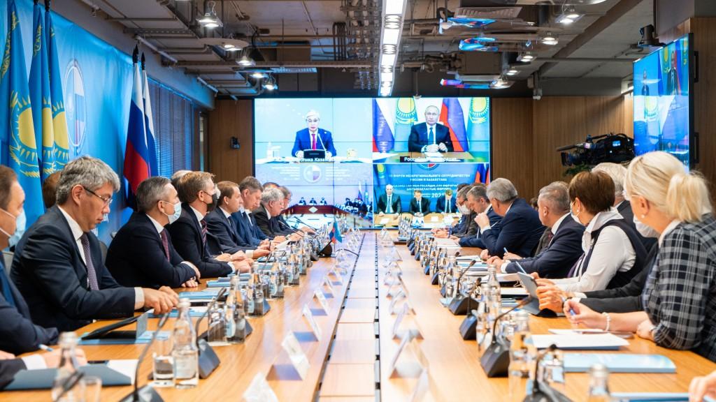 Путин отметил Астраханскую область, говоря о сотрудничестве с Казахстаном