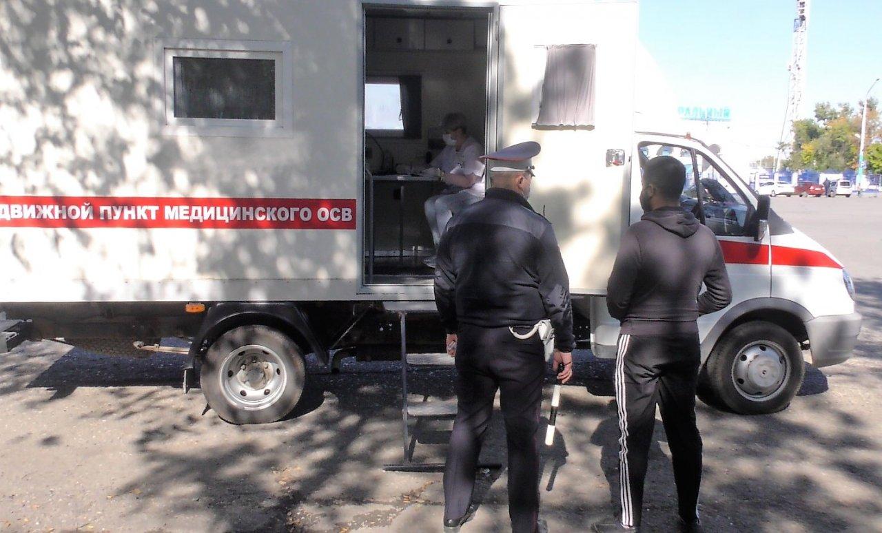 Водителей астраханских маршруток снова проверили на алкоголь и наркотики
